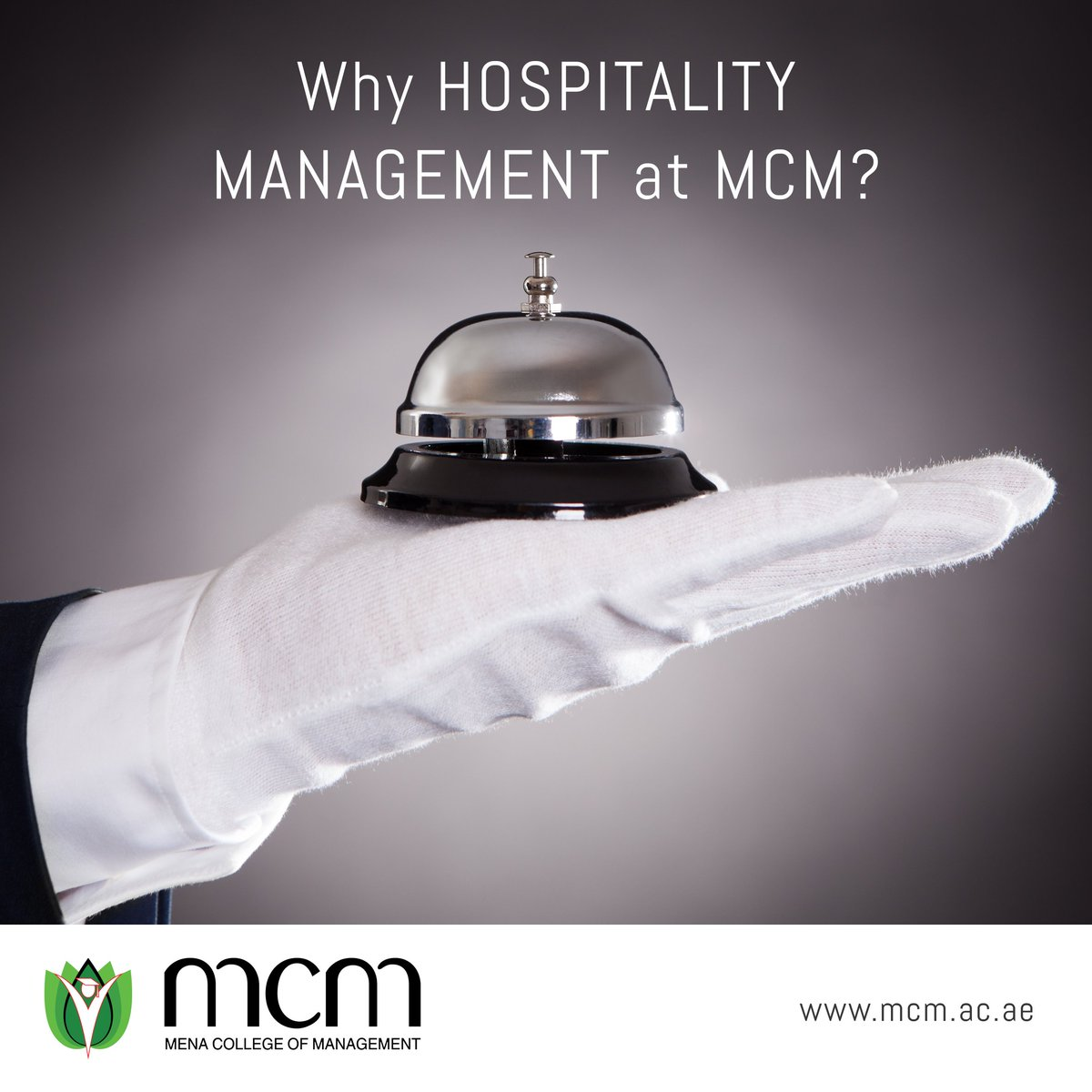 Why Study Hospitality Management #MCM? -Endless career opportunities -Chance to travel -Learn vital skills -Weekend Classes  -Scholarships offered -Internships -Strategic Location Learn More:  http://www.mcm.ac.ae +971564151557   043841000 ————————————— #career #mydubai