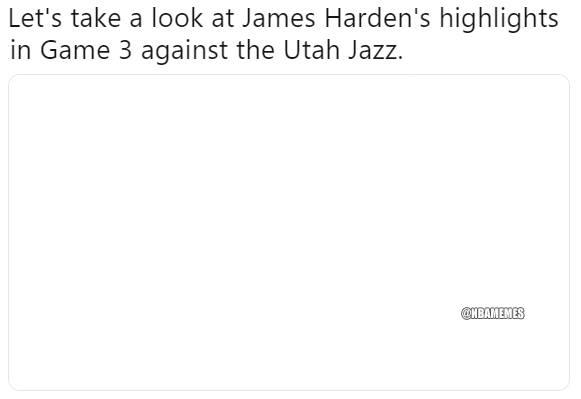 NBA Memes's photo on Harden