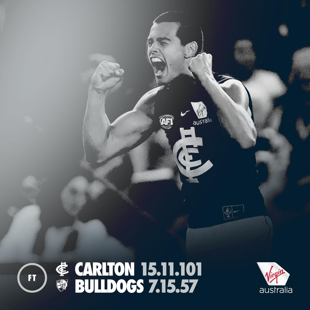 Carlton FC's photo on #AFLDogsBlues