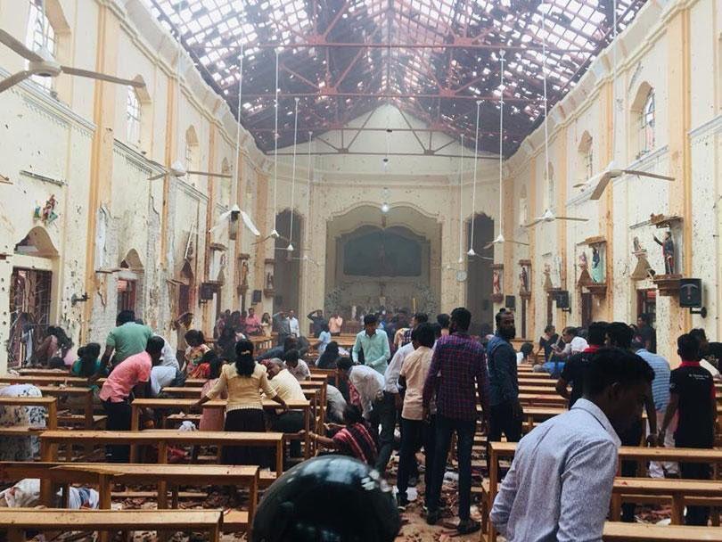 Великодній теракт на Шрі-Ланці: кількість жертв зросла до 160