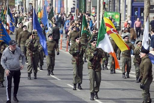 #Ireland #Republican group criticised for having 'no place on the streets of the capital' 48 hours after #LyraMcKee killing https://buff.ly/2IJfuqg