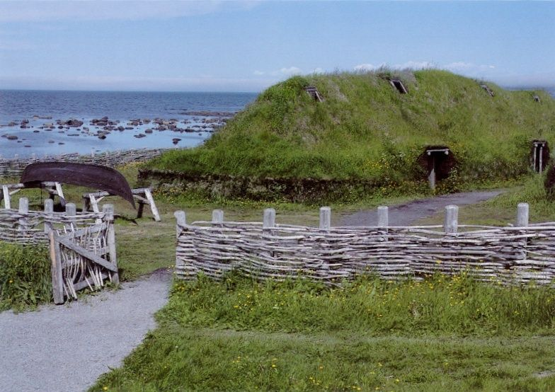 #BucketList #inspiration from the 1200+ items on my bucket list (https://buff.ly/2HfgxcV) L'Anse aux Meadows National Historic Site, Division No. 9, Subd. D, NL, Canada #inspired2achieve