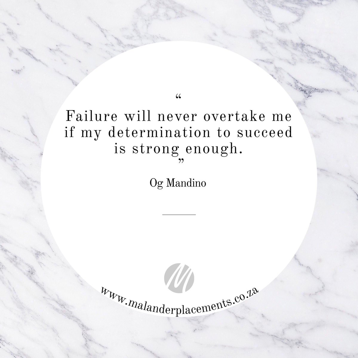 Quote of the Day 💬 . . . #quoteoftheday #quotes #motivation #inspiration #malandermotivates #malanderplacements
