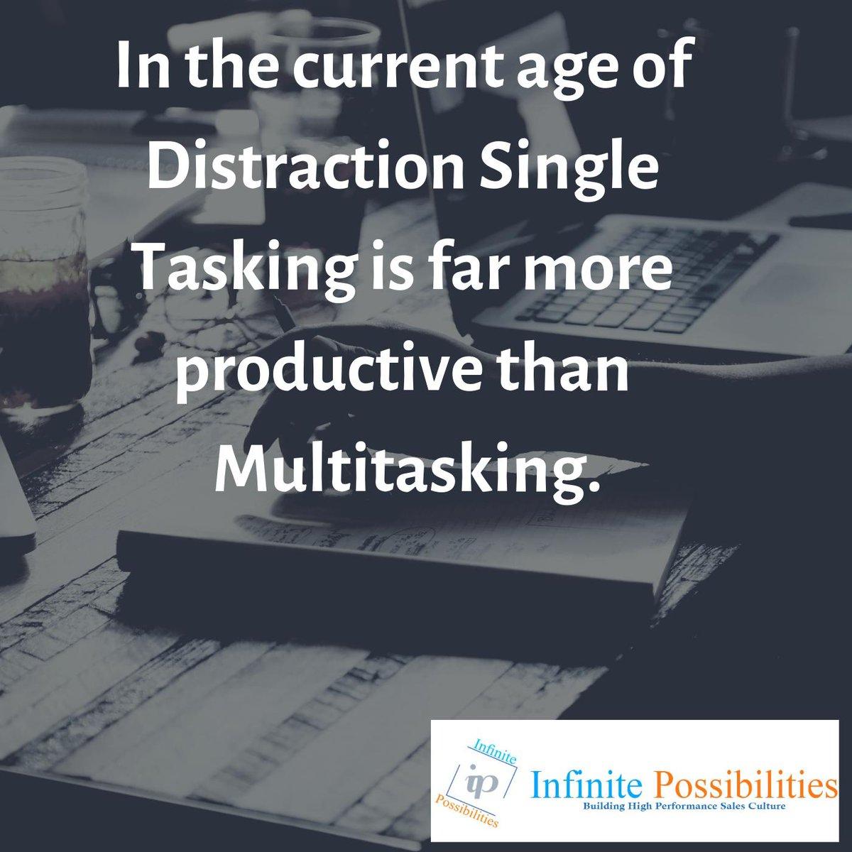 #startup  #startupsales #enterprenurship #startupadvise #Infinitepossibilities #Prabodhdeolekar #salesenablement #salestraining #productivity #personaldevelopment #selfhelp #multitasking #focus #salescoaching