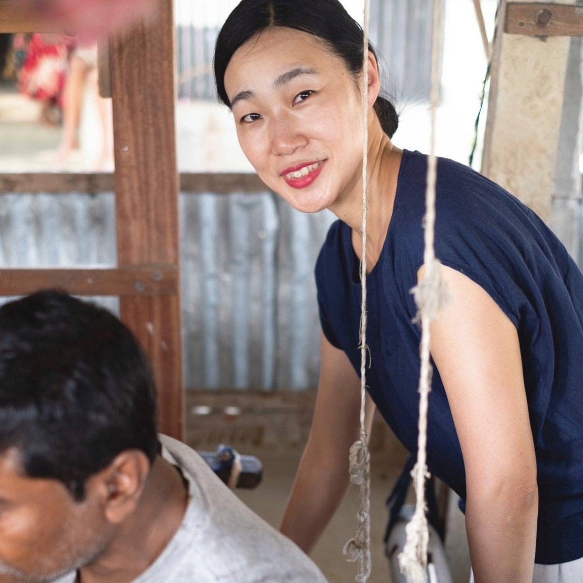 First inspired in Delhi, Fumie Kobayashi now brings the magic of traditional #indian #fabrics to #Japan & the world — here's her story from #WeAreTomodachi: https://bit.ly/2Dm5tfg  #GlobalGoals #SDG8