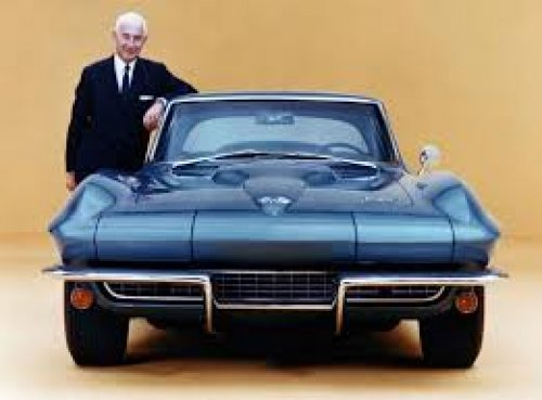 """23 years ago today (21 April 1996) the """"Father of the #Corvette"""", Belgium-born American engineer, Zora Arkus-Duntov (86), died. His ashes are entombed at the National Corvette Museum. https://bit.ly/2pK7Kvb"""