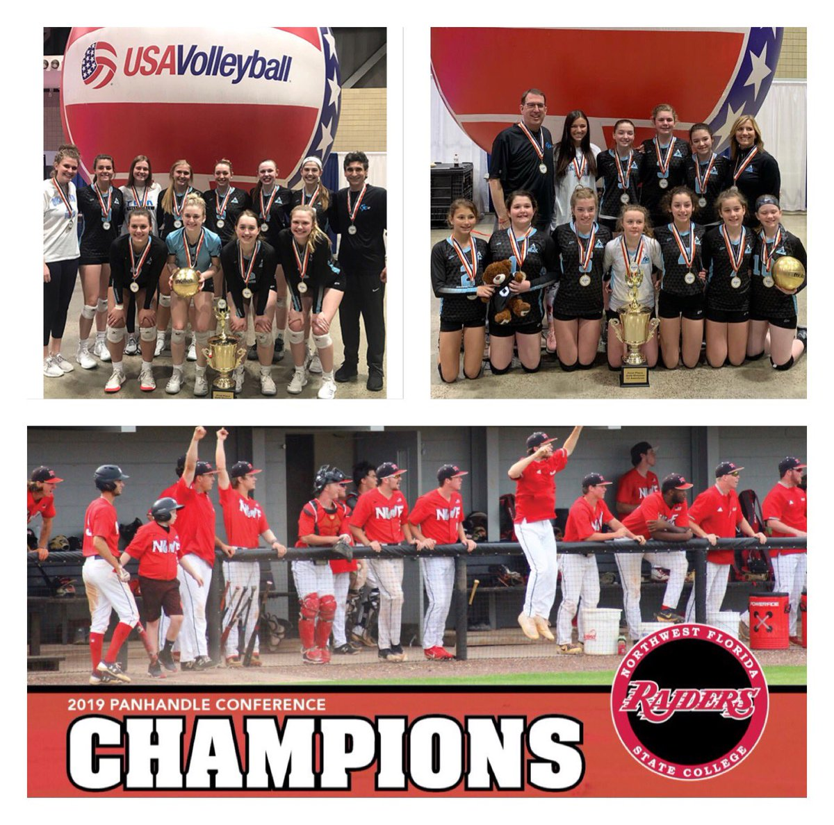 Been a successful couple weeks for the Polcovich household. Teagan's & my team won their championships to get bids to Nationals and Kaden's team just won their Conference today! #sportsfamily #wecompete <br>http://pic.twitter.com/5bI3b1R68e