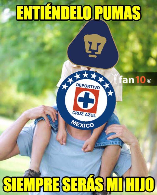 Los mejores memes del Cruz Azul 2-1 Pumas   Futbol Total