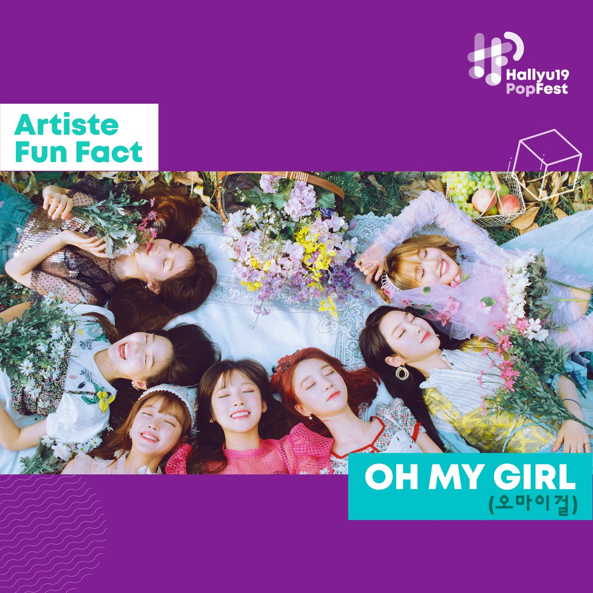 Happy 4th Anniversary OH MY GIRL! 🎉 Catch @WM_OHMYGIRL on 25 May at HallyuPopFest 2019! Miracles, have you gotten your tickets to catch them in Singapore? Haven't gotten your tickets yet? Get them now from: sportshub.com.sg/HallyuPopFest2… #오마이걸 #OHMYGIRL #HallyuPopFest2019