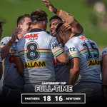 Image for the Tweet beginning: FULL-TIME. Victory at Henson Park!  #pantherpride