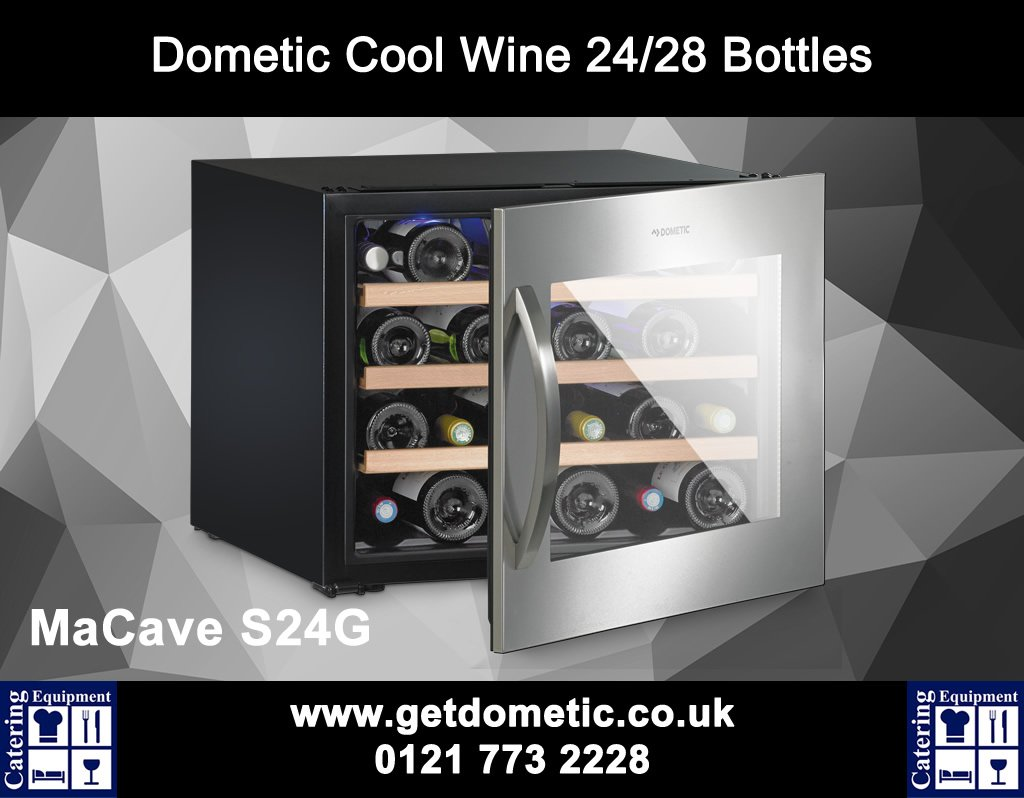 MaCave S24G Wine Cooler http://getdometic.co.uk/add-products/macave-s24g.aspx … … … #catering #wine #chef #restaurant #birmingham
