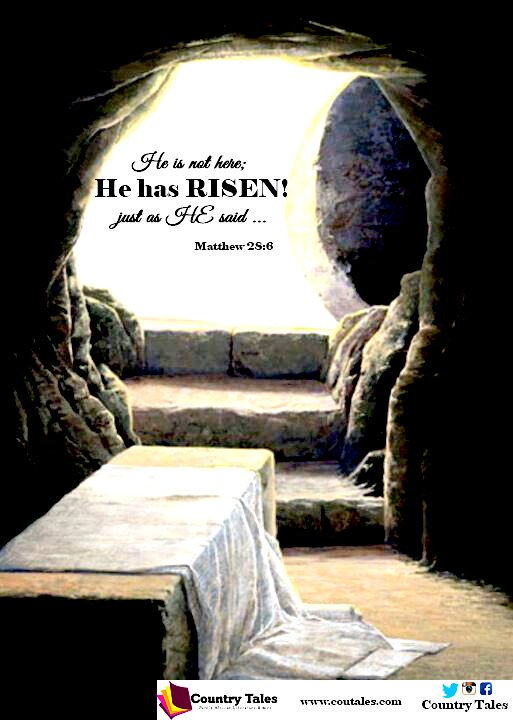 #Hallelujah our lord is Risen just as He said #happyeaster🐰 #easter #countrytales #sunday #writersofinstagram