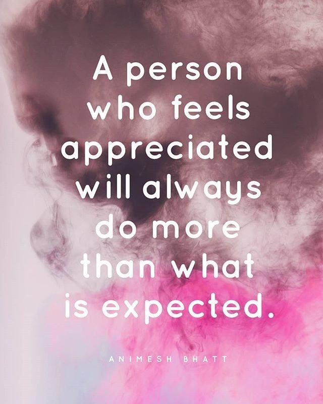 #LifeLessons #Appreciation http://bit.ly/2VYRQtE
