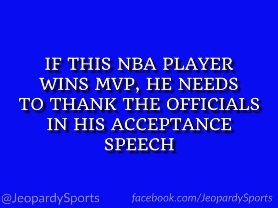 Jeopardy! Sports's photo on Harden