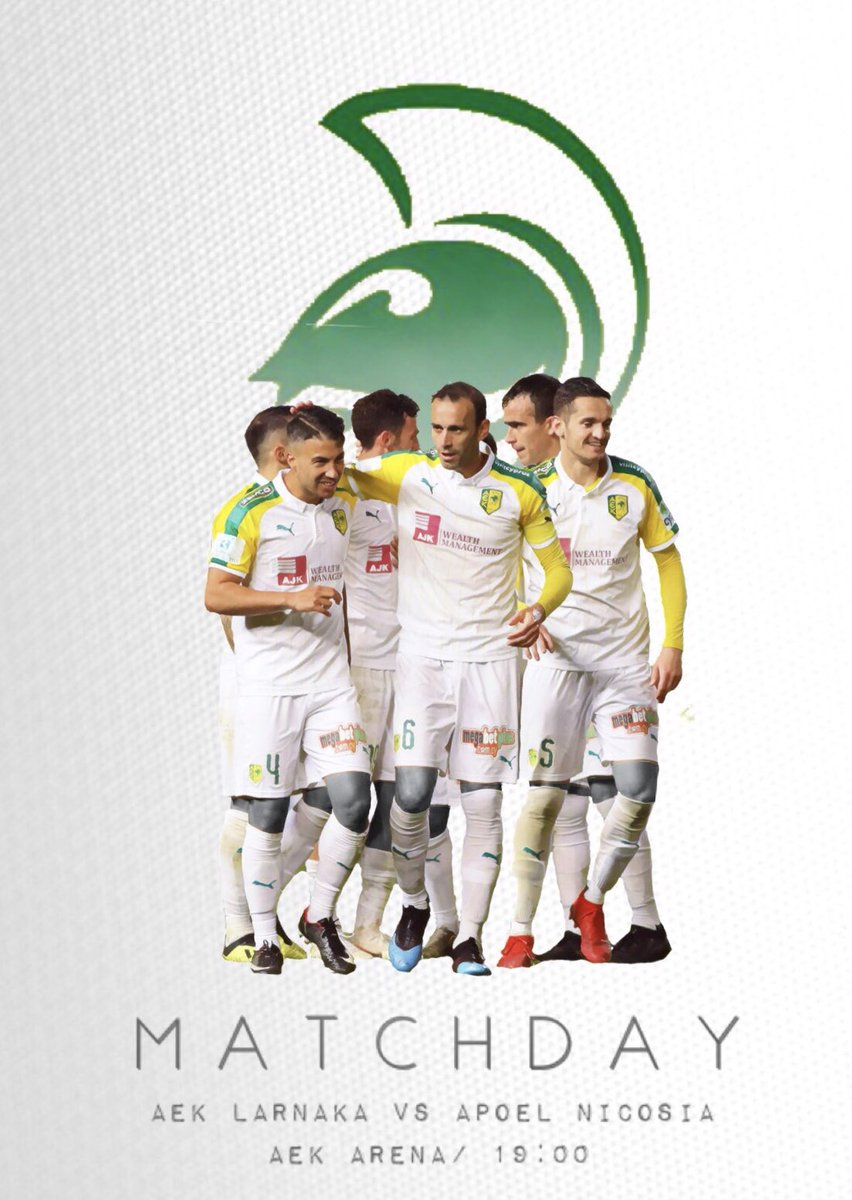 MATCHDAY 🔥 #AEK #AEKLarnaka #AEKAPOEL #MD #playoffs #home #ourstadium #letsdoit #pameAEK