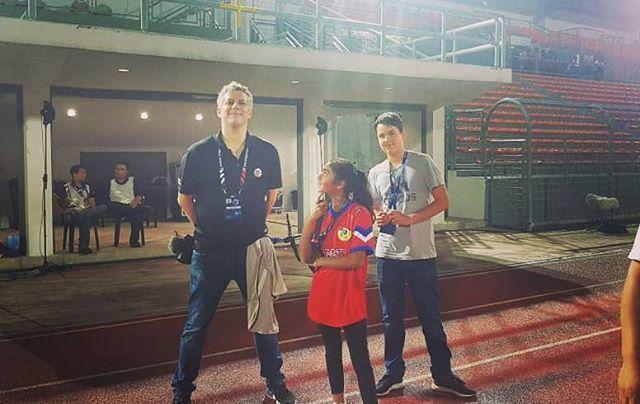 Toby and Nadia with me at KL lwn PJ City.  #ligasuper #kl #klpjc #fans #ultras #ultrasworld #mfl #vlog #travel #vlogs #adventure #malaysiasuperleague #kualalumpur http://bit.ly/2Uw1WRd
