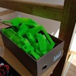 Image for the Tweet beginning: Quelques pièces imprimées en 3D