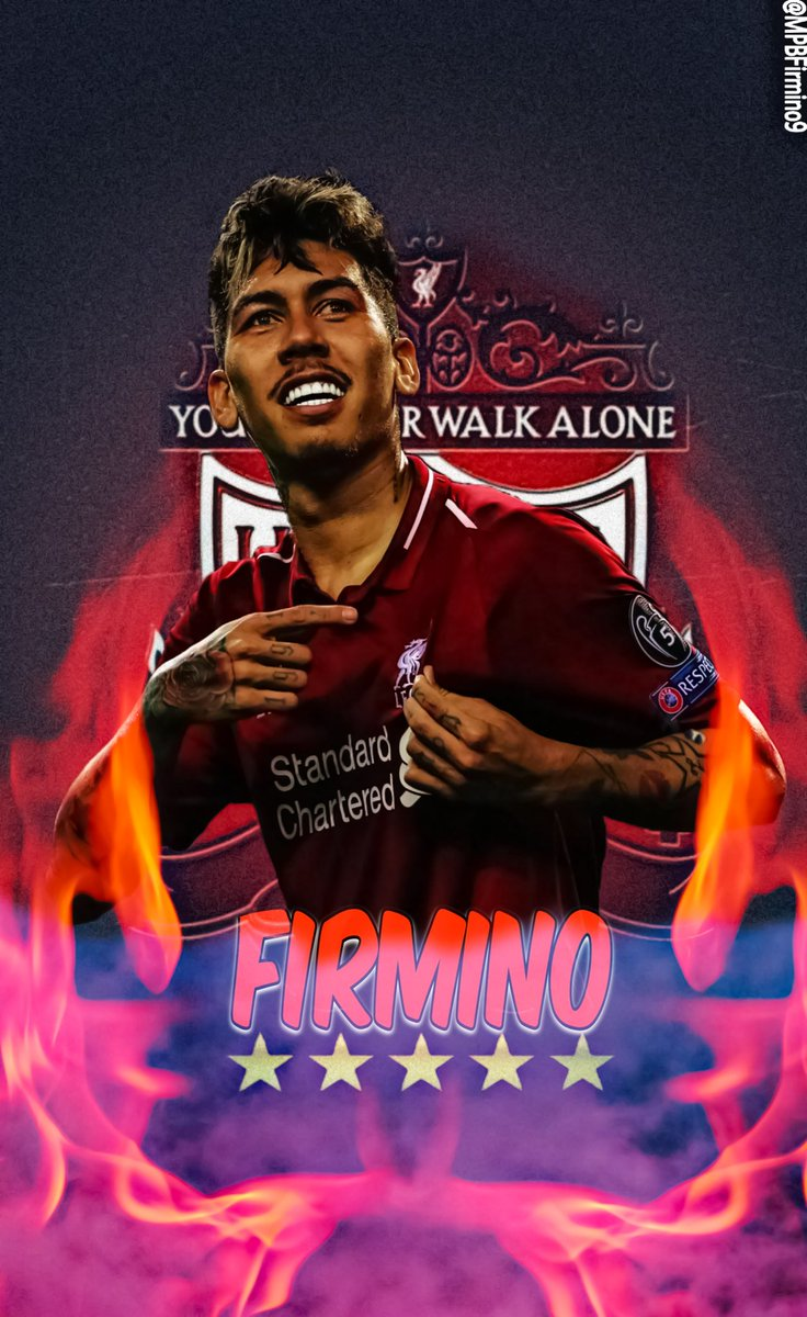 Roberto Firmino lockscreen you voted for.. Feel free to use.. any support appreciated 🙏😇 #LFC #LFCFamily #YNWA