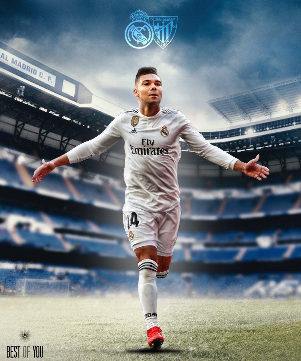 ¡Siempre con ilusión! ¡Vamos, equipo!  #HalaMadrid #RealMadrid #RMLiga   @realmadrid 🆚 @AthleticClub  🏆 @LaLiga  📍 Estadio Santiago Bernabéu 🇧🇷 11:15 h 🇪🇸 16:15 h