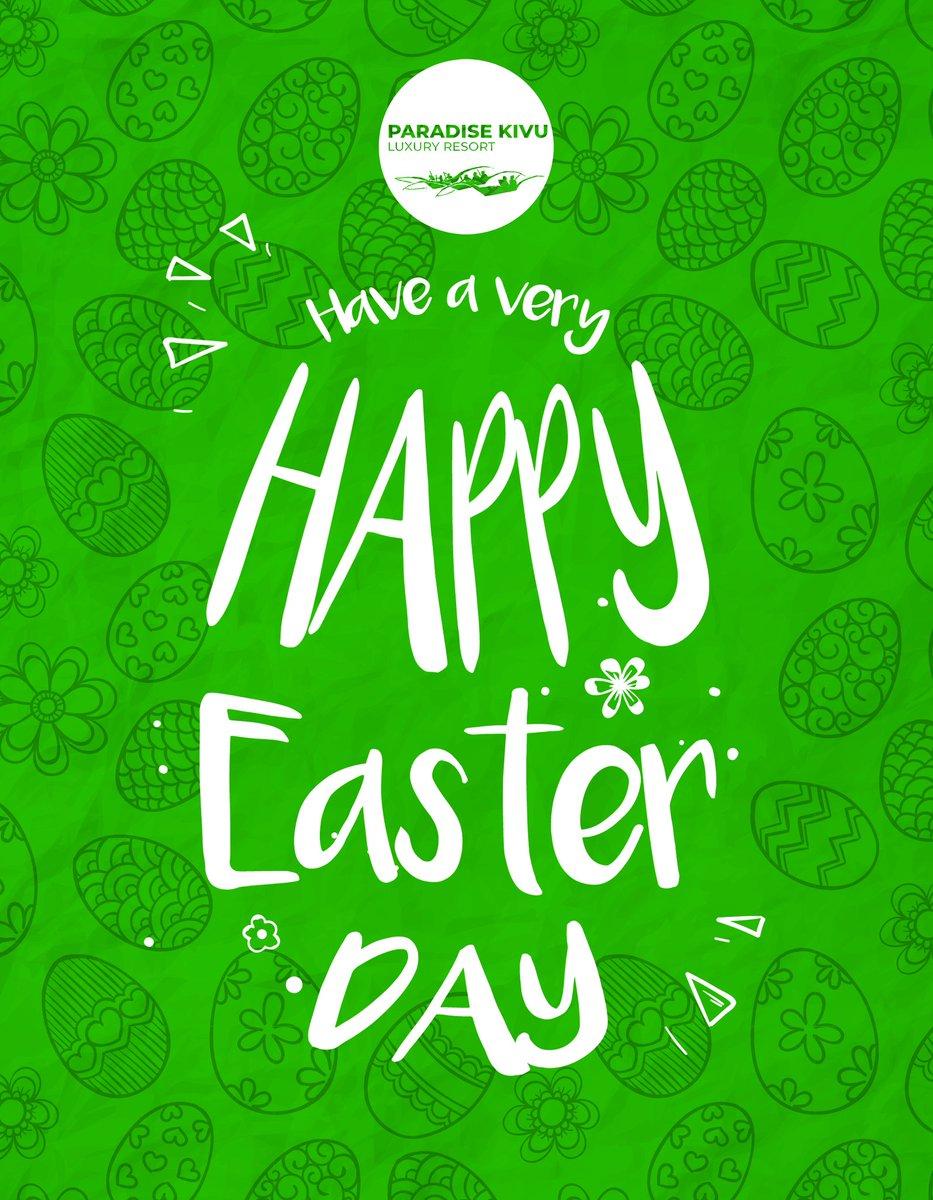 Kivu Paradise management wish you a Happy Easter Day.🌊 📍 #Rwanda - Gisenyi, Rubavu, Nyamyumba. #RwOT #Kigali