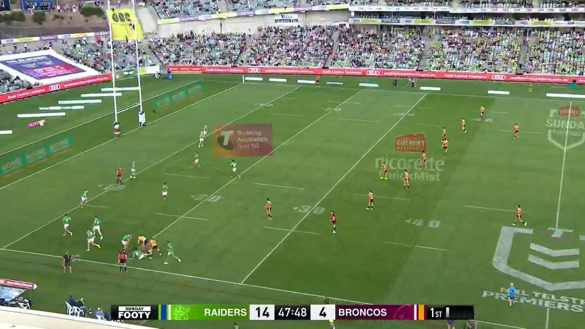 Image for the Tweet beginning: A much-needed try for the