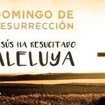 Image for the Tweet beginning: Él ha resucitado ¡Aleluya! #Domingoderesurrección