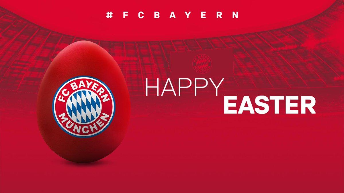 Happy Easter, #FCBayern fans! 🐰🐣 #MiaSanMia