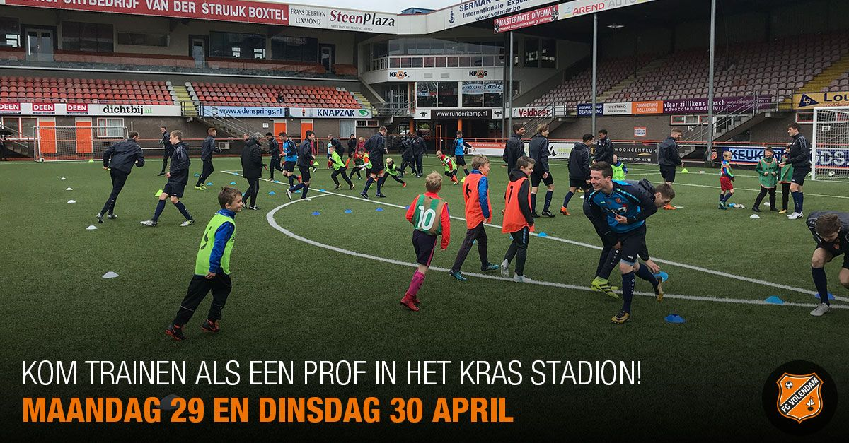 test Twitter Media - Kom trainen als een prof in het Kras Stadion! https://t.co/VS719GfR9i https://t.co/xiR2OiZWsf