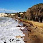 Image for the Tweet beginning: Niente più pericoli, la spiaggia