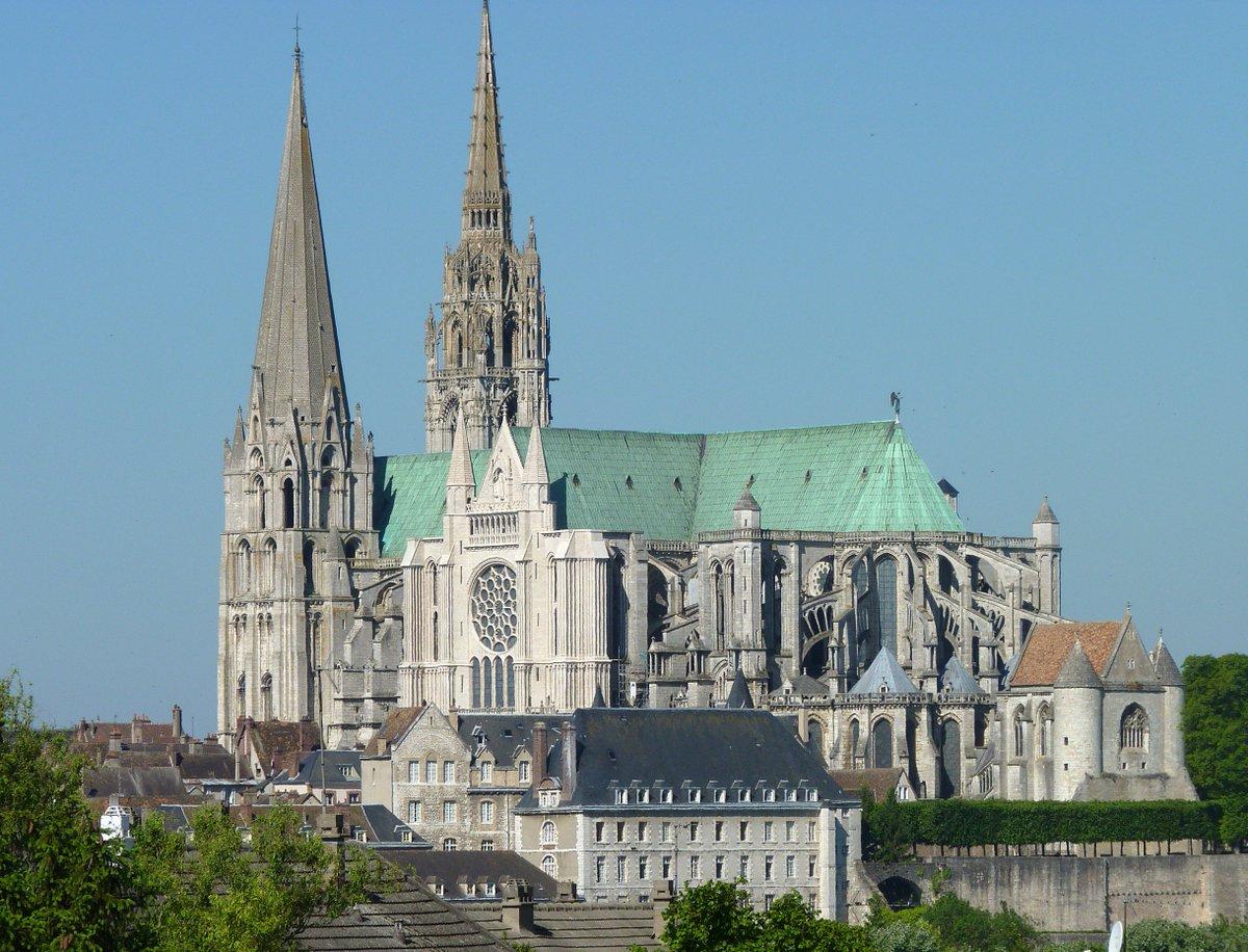 Eerbetoon aan de Notre Dame: een ode aan vier andere mooiste gebouwen ter wereld. Nummer 2: Kathedraal van Chartres, Frankrijk.