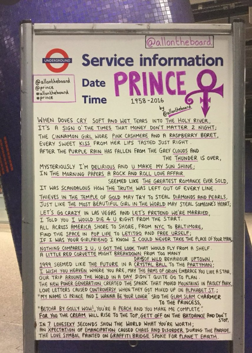 Thanku @allontheboard 4 this, Fab job! The #PurpleFamily will love this,I do #RespecttheLegacy #Prince #Prince4Ever <br>http://pic.twitter.com/ltCRQHLH6U