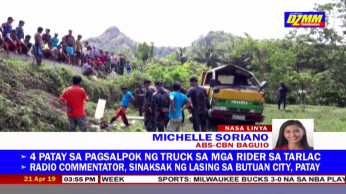 Nakaburol na sa kanilang mga bahay ang 8 nasawi sa aksidente sa Tabuk, Kalinga nitong Sabado de Gloria kung saan nahulog sa bangin ang isang elf truck nang di nito kayanin ang paakyat na bahagi ng kalsada | ulat ni Michelle Soriano