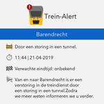 @TreinAlert - 🚨 #treinleven #Barendrecht. Reden: Door een storing in een tunnel.  Van en naar Barendrecht is er een verstoring in de treindienst door een storing in een tunnel. Zodra we meer weten informeren we u verder. https://t.co/kezX83Gi3G