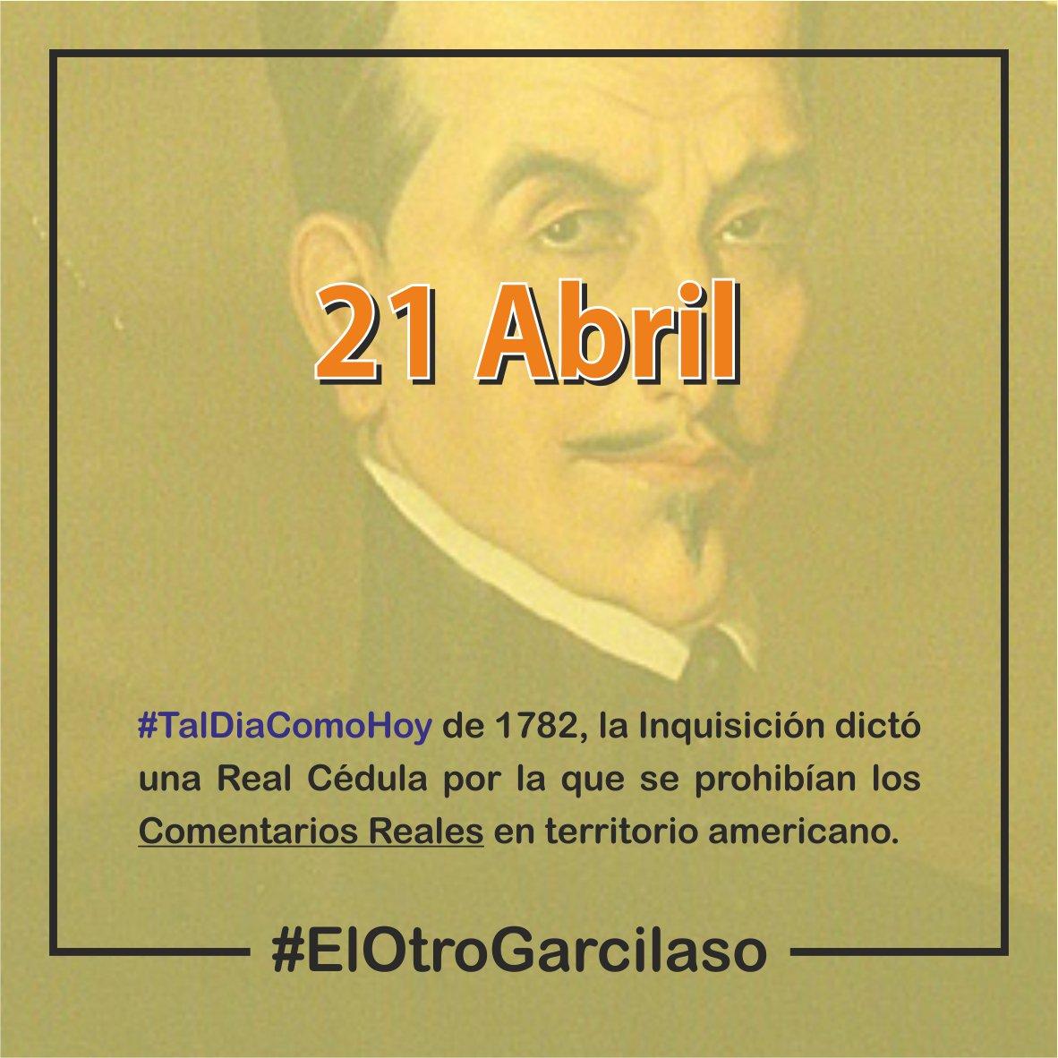 237 años después sigue siendo un auténtico desconocido 🥺 #IncaGarcilaso #ComentariosReales #ElotroGarcilaso https://t.co/EOB14bZsII