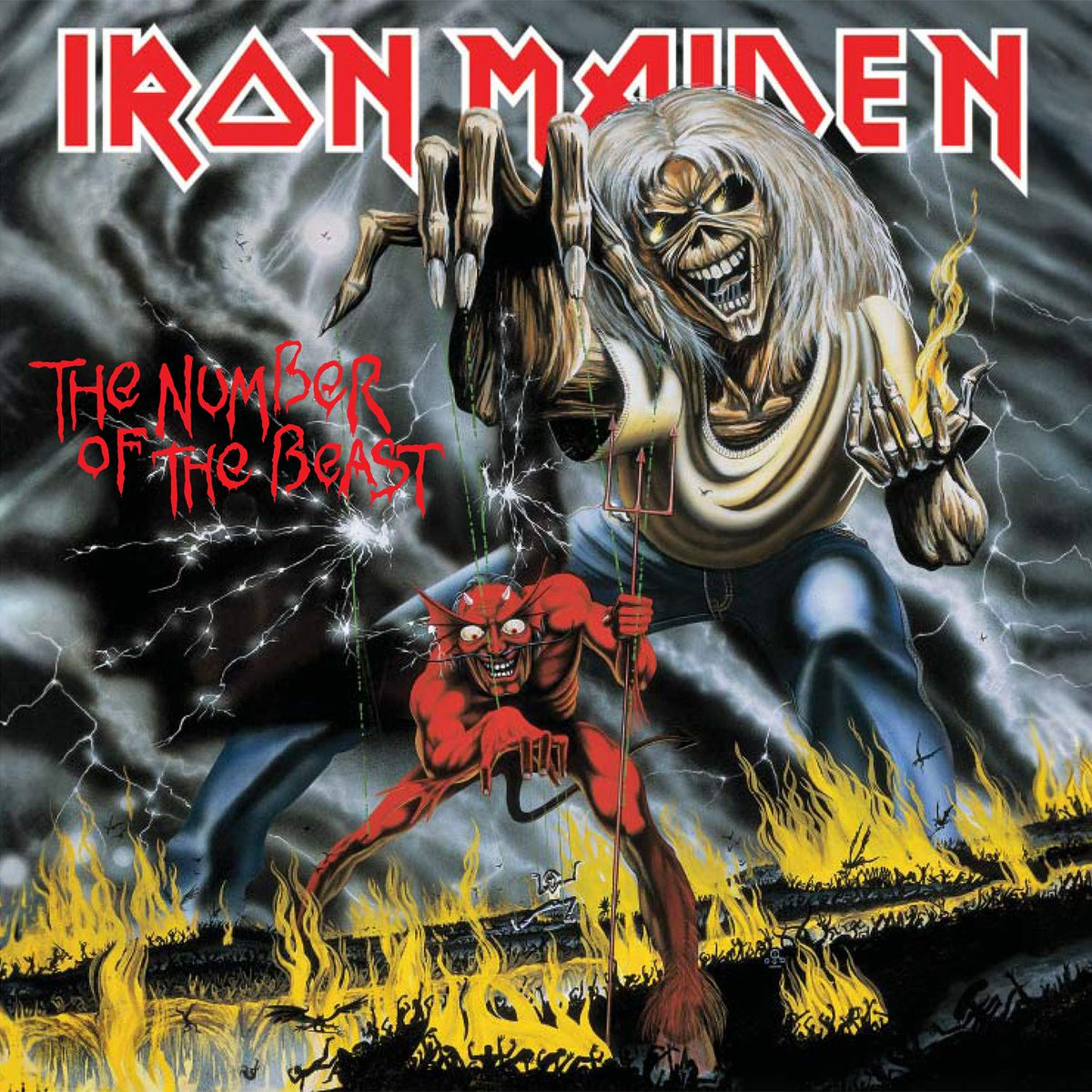 The Number Of The Beast - Iron Maiden (1982) #NowPlaying https://t.co/PlFrtonLDE