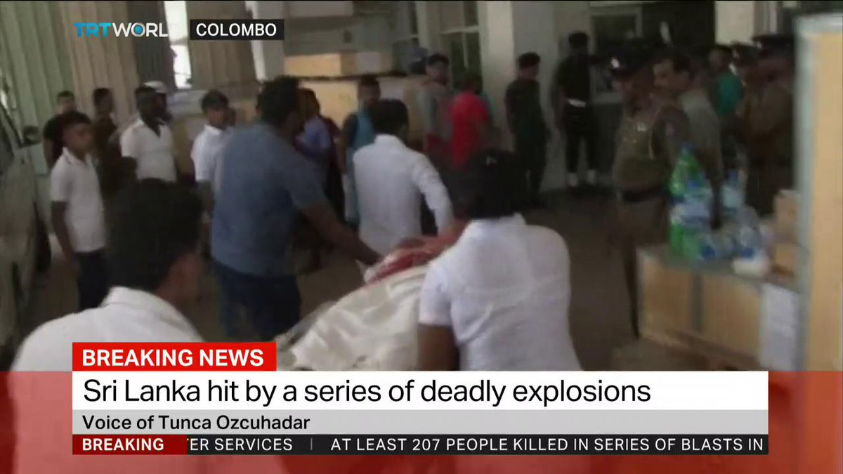 We speak with Turkish Ambassador to Sri Lanka Tunca Ozcuhadar who says two Turkish engineers were among the more than 200 killed in bomb blasts in Sri Lanka