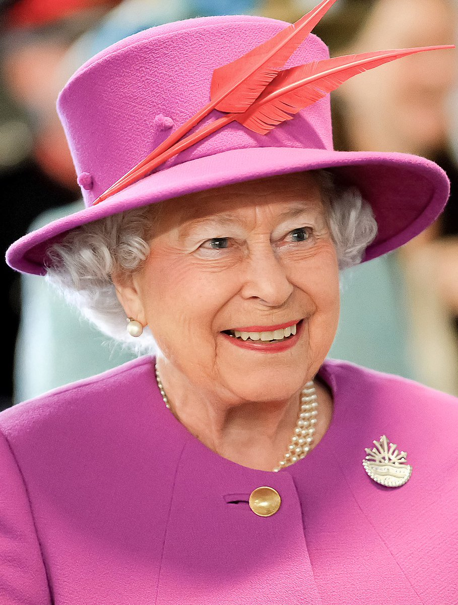#QueensBirthday is on the same day as #princessDaisy's birthday.