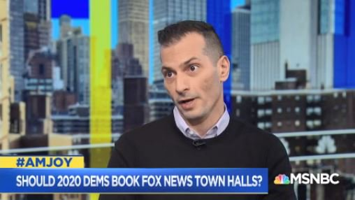 .@GoAngelo: Fox is so aggressively reaching out to Dem campaigns because they're desperately trying to reach threshold... for selling 70% of ads for next year... in this moment  there's no reason for any Democratic candidate to give Fox the lifeline it so desperately needs #AMJoy