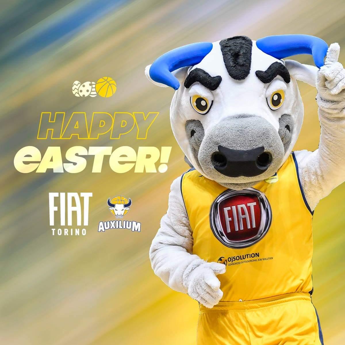 Buona Pasqua a tutto il popolo gialloblù! 🐣 💛💙 https://t.co/nNFdCBxuBO