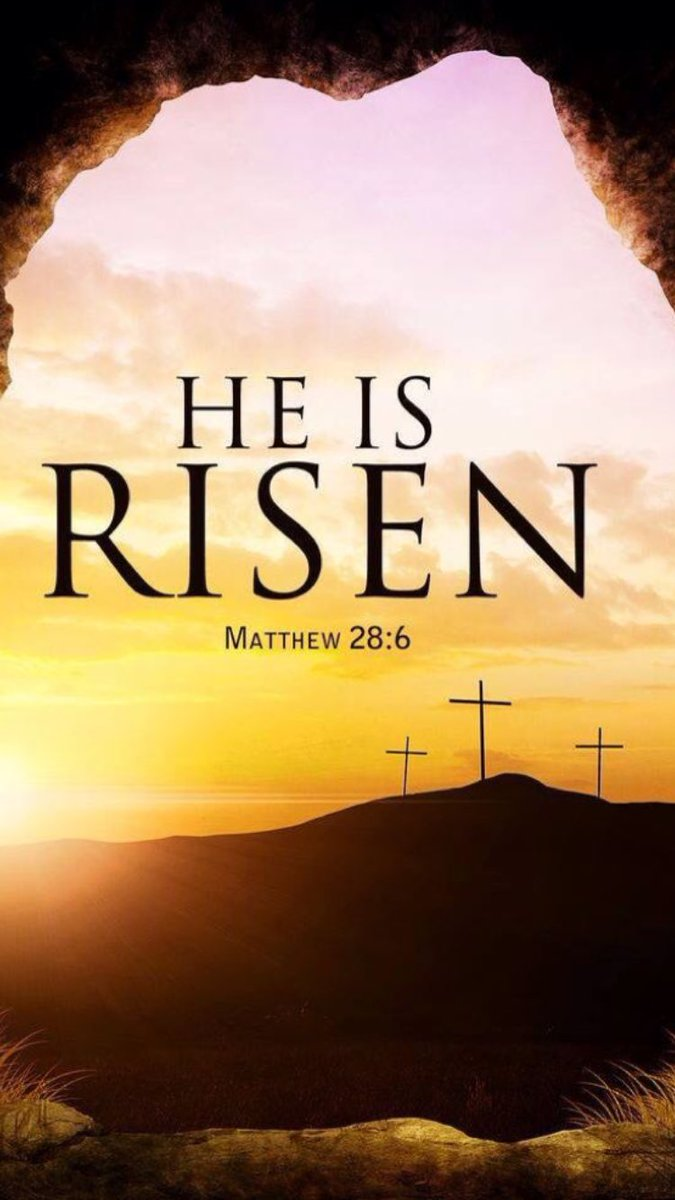 Happy Easter. #HeIsRisen #Halleluia<br>http://pic.twitter.com/Yxbpv5ir1x