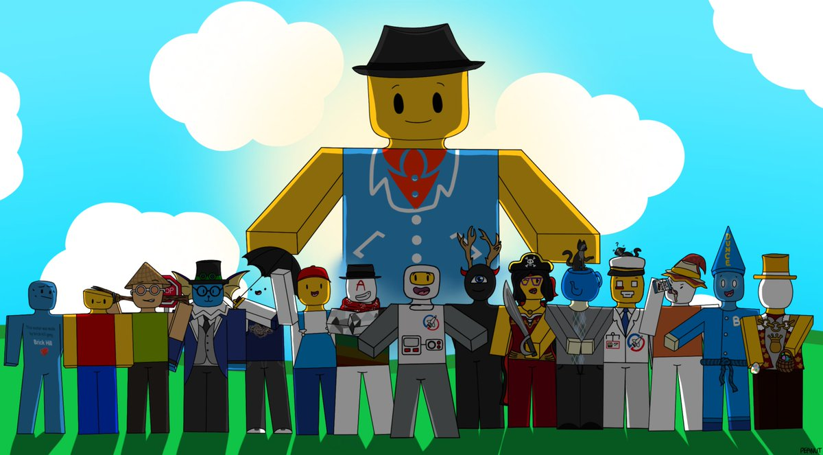 Brick Hill Roblox Brick Hill On Twitter Whoa Check Out This Awesome Art By Peanut