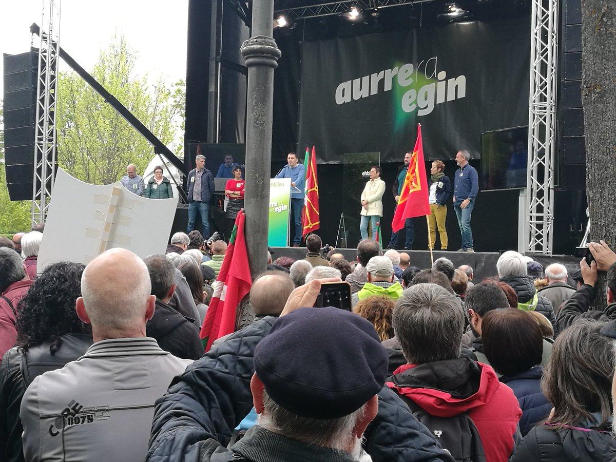 #AberriEguna2019 @ArnaldoOtegi: «...nosotrxs vamos a Madrid para que los y las presas políticas vengan, vengan a construir la republica vasca con nosotrxs...»  #PresoakEtxera|tzeko #Erabaki #ParaAvanzar #AgurTrifachito