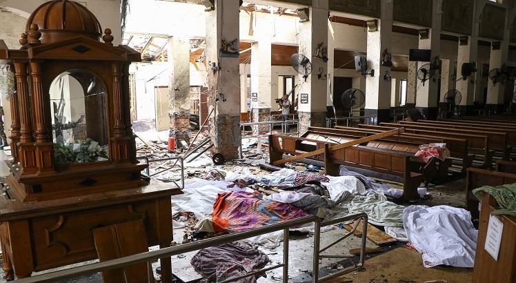 Sri Lanka: explosões em hotéis e igrejas deixam centenas de mortos e feridos
