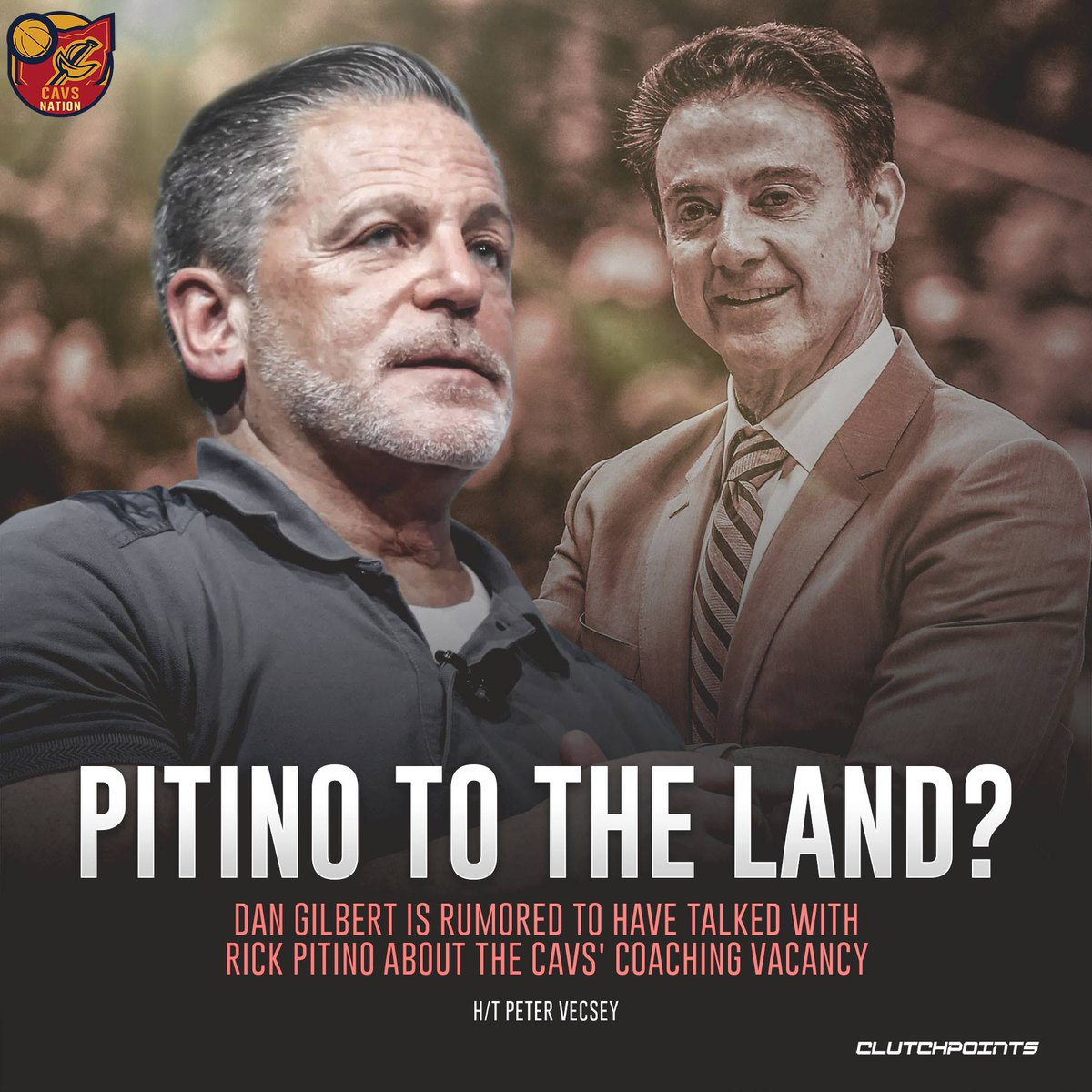How do you feel about possibly welcoming Rick Pitino to The Land?   #Cavs #BeTheFight #NBA #NBATwitter