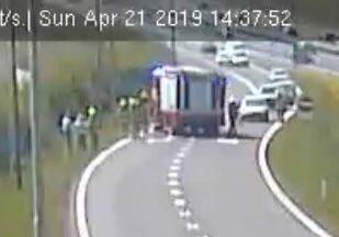 Ongeval afrit #A28 #Nijkerk 9  @RWSverkeersinfo