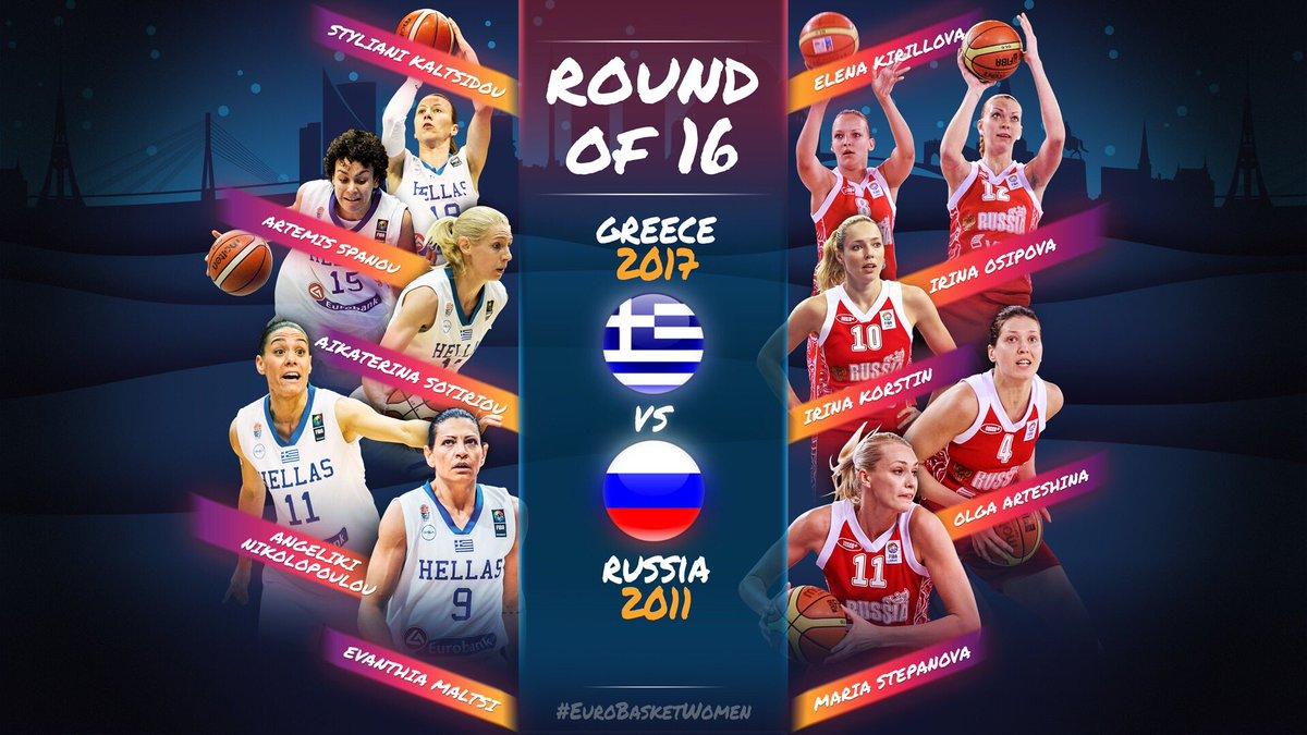 🚨 ROUND OF 16 - MATCHUP 2 🚨  🗳 VOTE in the tweet below ! #EuroBasketWomen