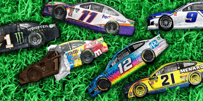 #HappyEaster from your NASCAR family! 🐰  And save some chocolate for us, will