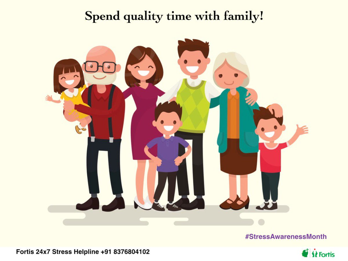Spend Time With Family And Friends