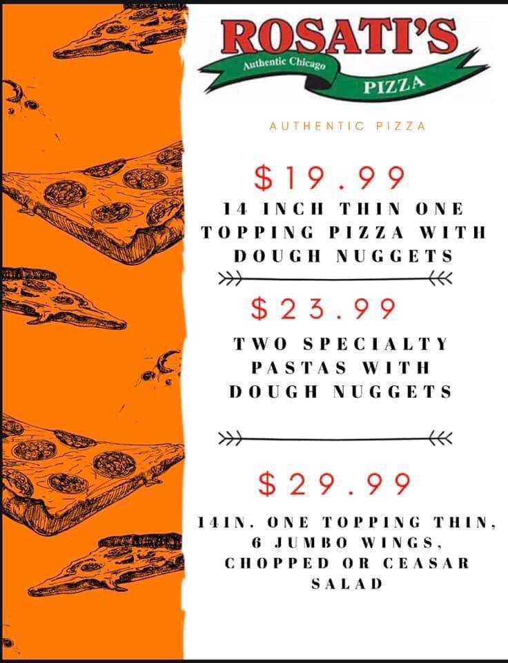 Rosati's Pizza's photo on Good Sunday