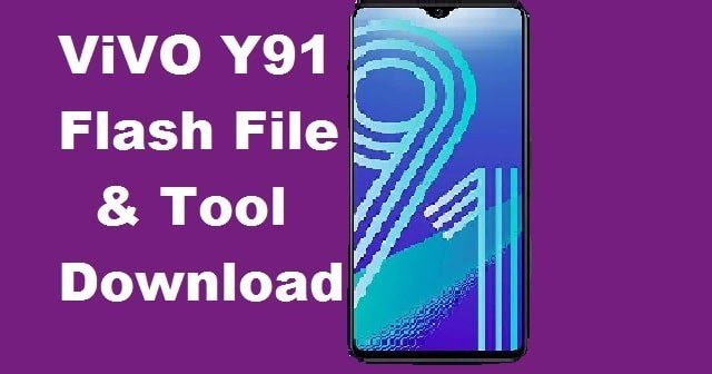 Vivo Y91 Flash Tool